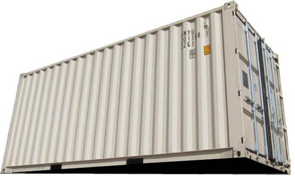 A standard 20' container that can be delivered to Pensacola FL